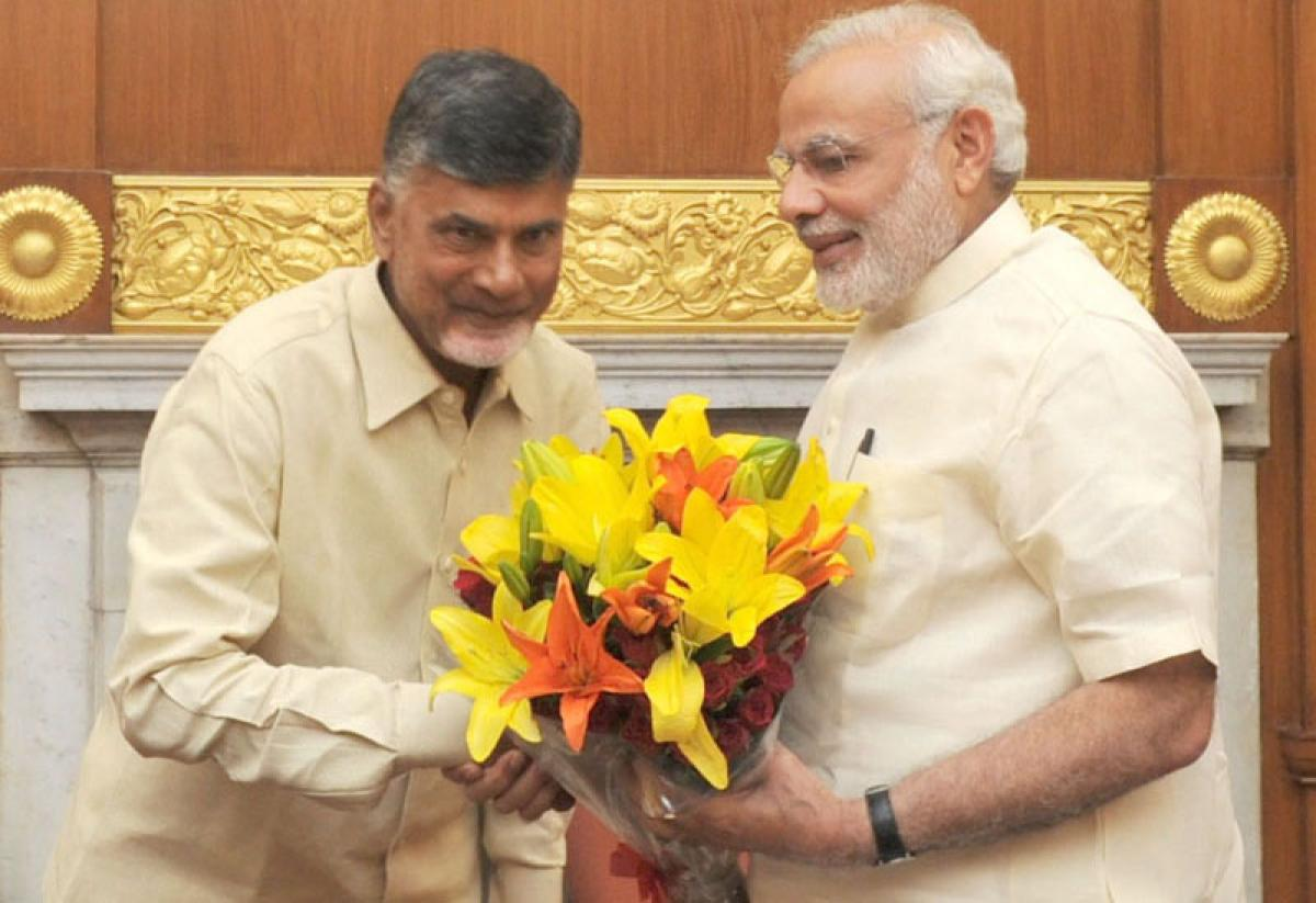 ap capital ceremony invitation to PM Modi