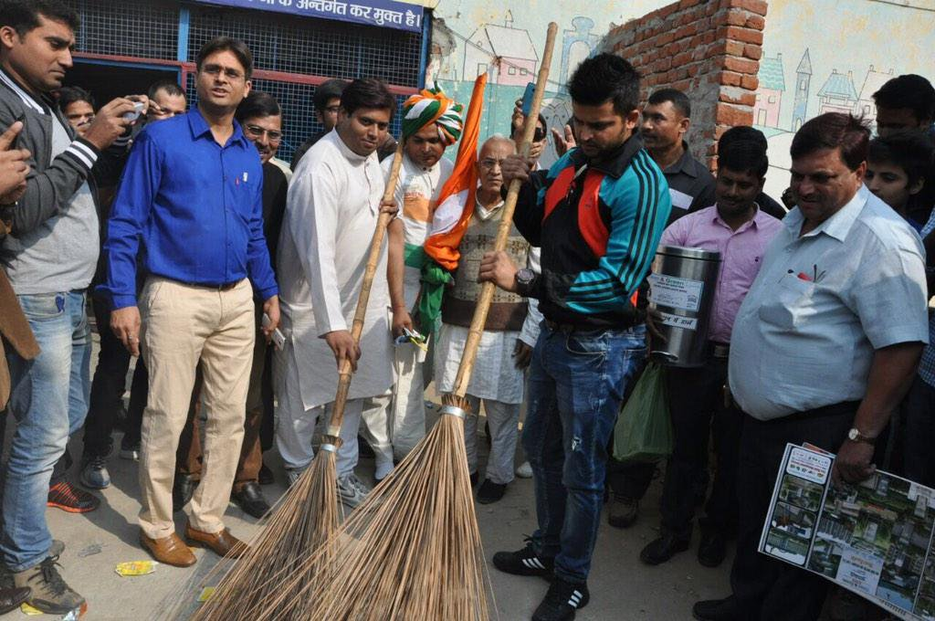suresh rina on swatchh bharat mission