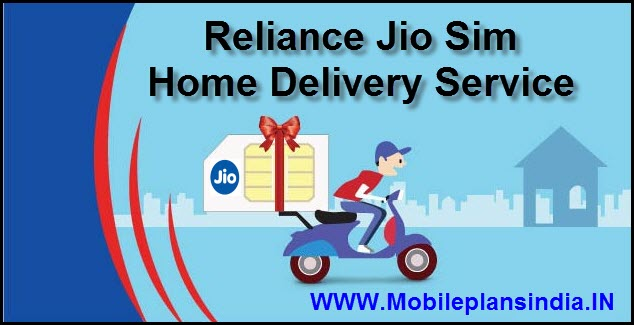 Reliance Jio Home Delivery