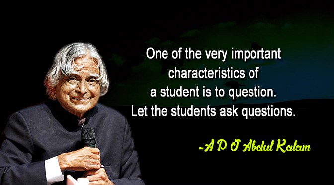 APJ Abdul Kalam Quotes National Students Day9