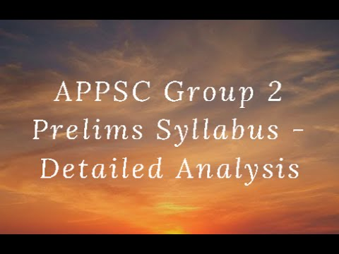 appsc group 2