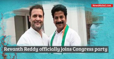 "Revanth Reddy officially joins Congress party Former TDP Leader Revanth Reddy has officially joined the Congress party today in the presence of AICC Vice President Rahul Gandhi. Telangana Telugu Desam Party working president state unit wise. he resigned from primary membership of the party. MLA from kodangal in mahabubnagar district attended many party meeting recently, he resigned from MLA post as well. TPCC Chief Uttam Kumar Reddy organised invitation moment grand manner. Telangana Congress heartfully welcomed to party. many MLAs,MLCs and congress district president attended to party invitation meeting. Seethakka and Vemu Narender Reddy along with 18 other TDP leaders also joined Congress in New Delhi along with Revanth Reddy. TDP leaders from Telangana state had asked him to clarify on rumours that he was planning to join the Congress. Earlier, Reddy had accused TDP cabinet ministers in Andhra Pradesh of seeking favours from Telangana chief minister K. Chandrasekhar Rao. in recent press meet Revanth blasted KCR Government in the Press Meet and at the same time showered praises on Chandrababu. PCC chief spokesperson Sravan Dasoju, welcomed Reddy in joining the Congress in Telangana. First AIN Officially posted on twitter "" Revanth Reddy, who recently resigned from TDP, joined Congress in the presence of Congress VP Rahul Gandhi in Delhi "" Revanth was facing rebellion from within the party as the Telangana TDP leaders didn't follow his cue of going on the offensive against the TRS government and KCR"
