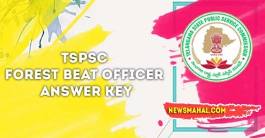 TSPSC Forest Beat Officer Answer Key