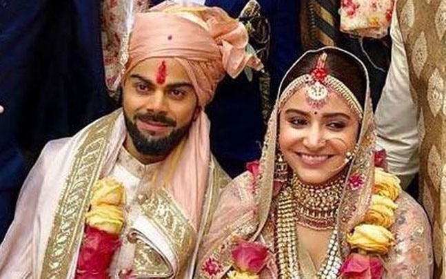 Anushka Sharma Virat Kohli Married Photos