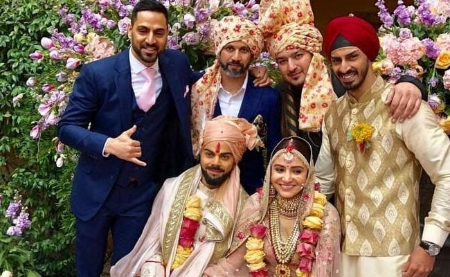 Anushka Sharma Virat Kohli Wedding Images