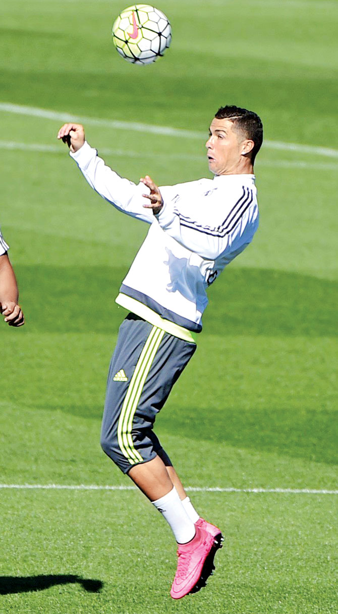 cristiano in practice images