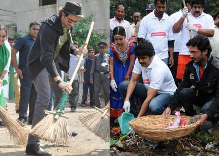 nagarjuna cleaning