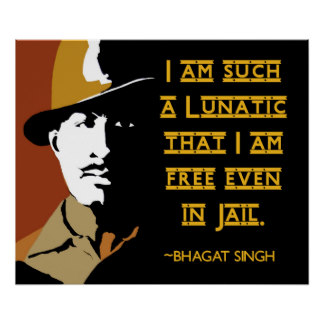 bhagat singh posters
