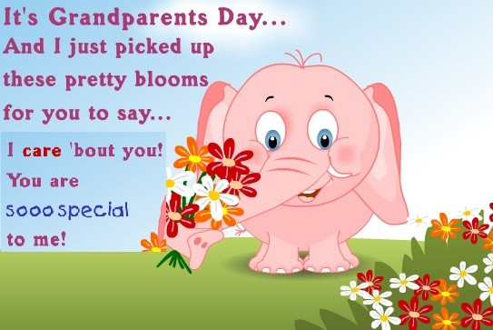 grand parents day messages