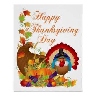 happy thanks giving day hd posters